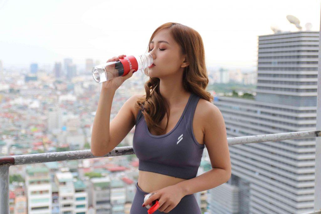 Uống nước giúp cải thiện hoạt động của cơ bắp