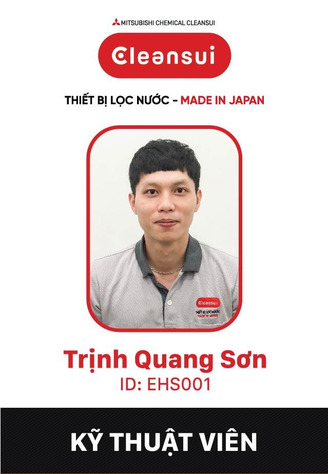 Ông Trịnh Quang Sơn